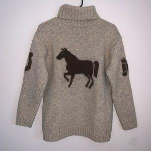 🔻Ralph Lauren Vintage Horse Sweater